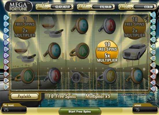 mega fortune slot free spins slotsplot