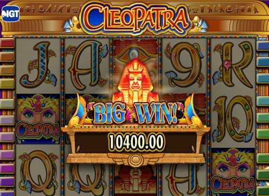 cleopatra slot big win slotsplot