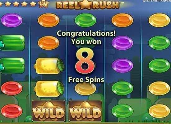 reel rush slot free spins slotsplot